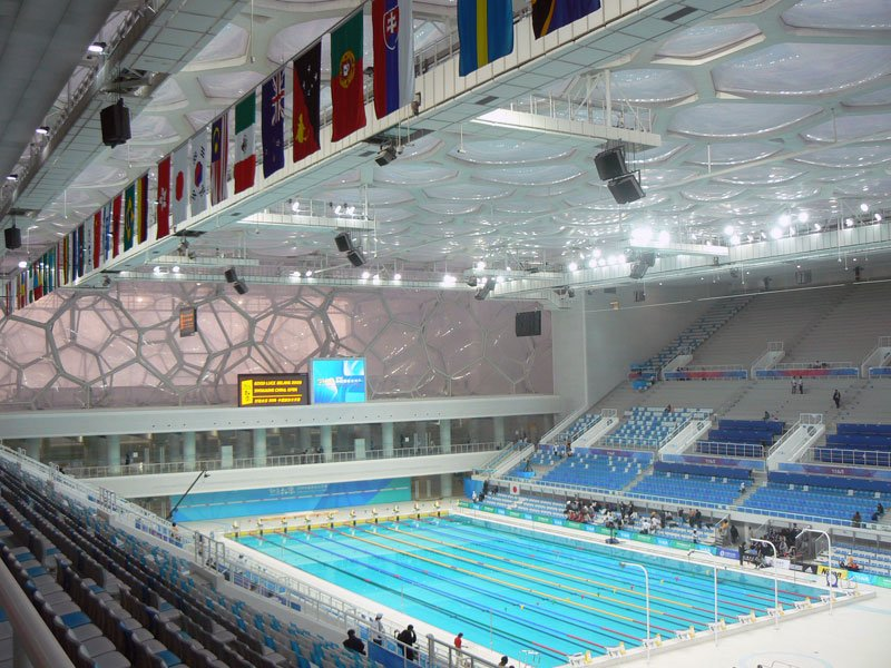 <span>奧運會場館水立方</span>